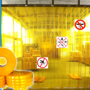 màng pvc chống tĩnh điện màu vàng