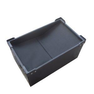 thùng nhựa danpla chống tĩnh điện có lắp vải